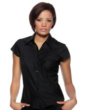 KK795 Bargear Ladies' Cap Sleeve Bar Shirt